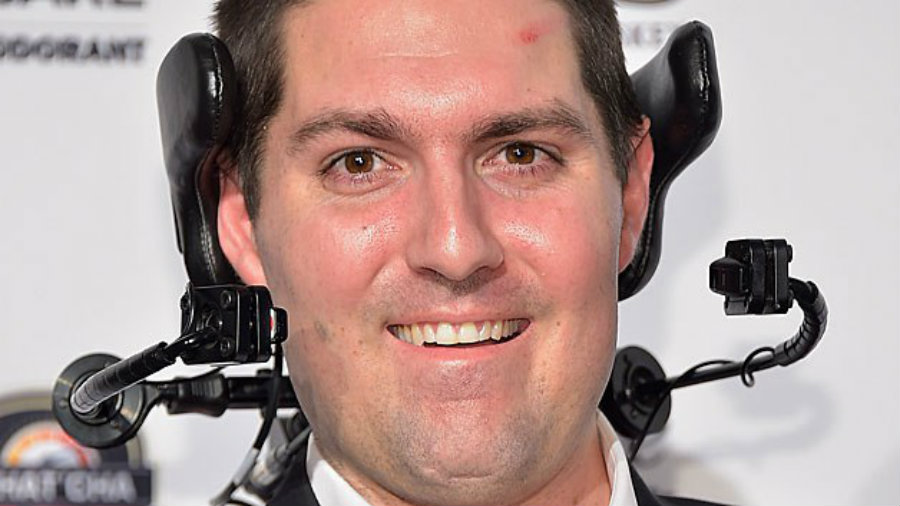 Pete Frates. Image credit: Michael Loccisano / Getty / Sports Illustrated / CBS Boston