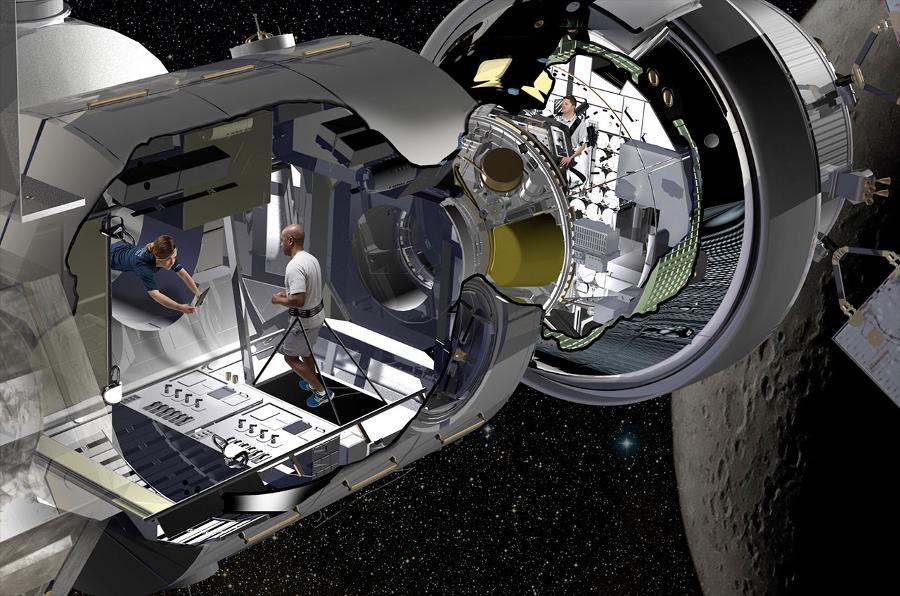 The Donatello module in the future. Image Credit: collectSPACE