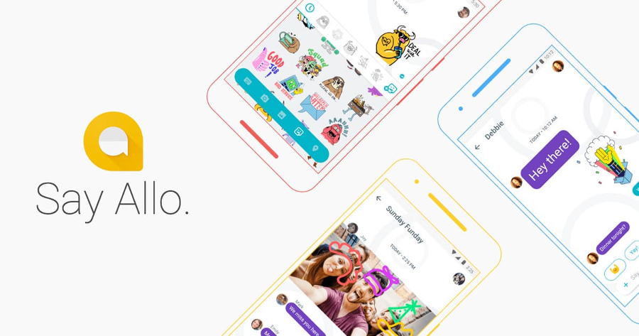 Allo is Google's AI-based messaging app. Image Credit: Google