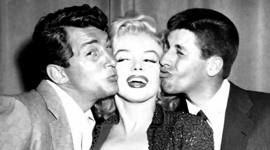 Jerry Lewis, Marilyn Monroe and Dean Martin in 1953. Image Credit: Historical Pics