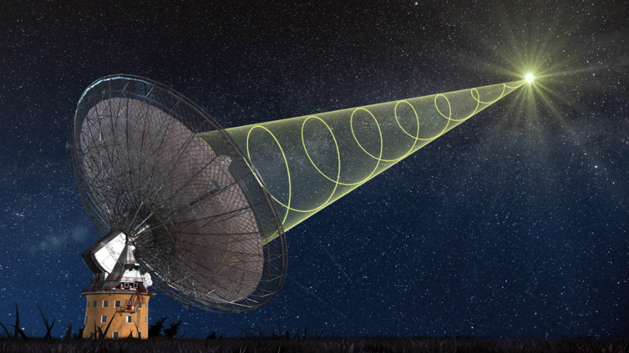 Image result for Telescope Records Fast Radio Burst from deep Space
