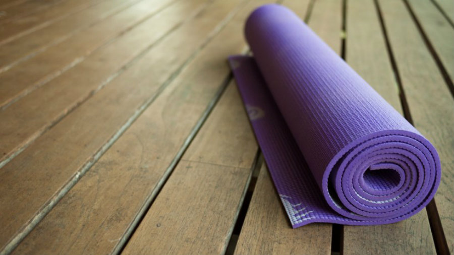 A component found in yoga mats reduces the chances that women have of getting pregnant. Image credit: Gaia