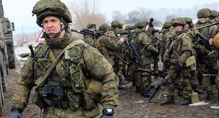 Russian forces during the Zapad exercises in Belarus. Image Credit: Sputnik International