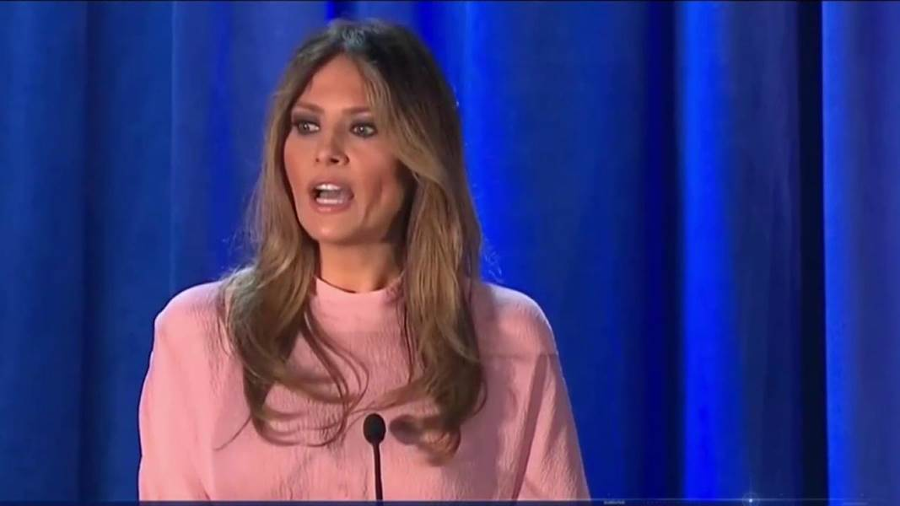 Melania Trump at the U.N. Image Credit: NBC News