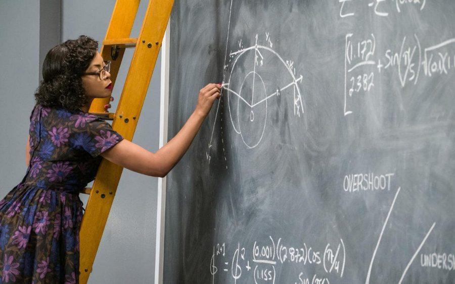 "Taraji P. Henson as Katherine Johnson in ""Hidden Figures."" Image credit: FOX"