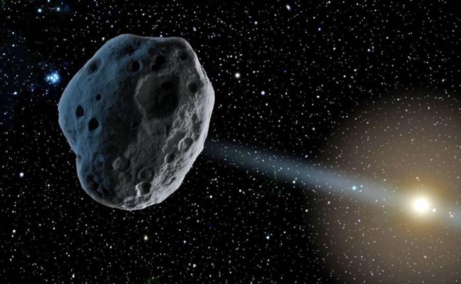 Interstellar object in our solar system, A/2017 U1