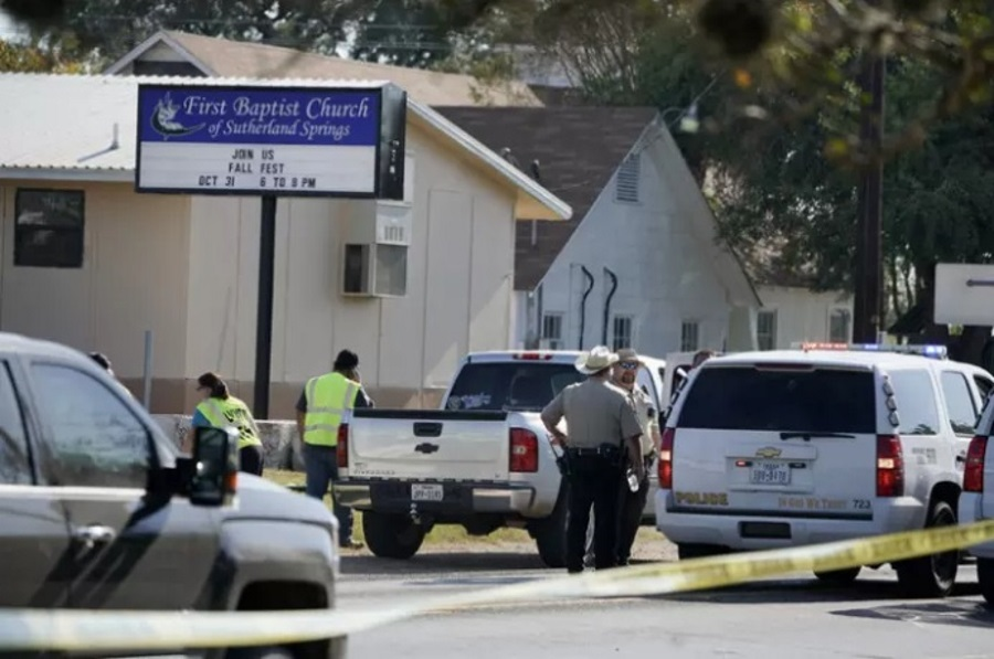 Mass shooting in Sutherland Springs, Texas church shooting, Texas mass shooting