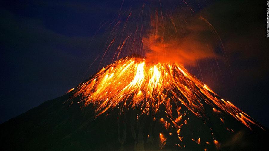 Ash covering continents, Super volcano, Massive eruption, Super eruption, Apocalyptic eruption