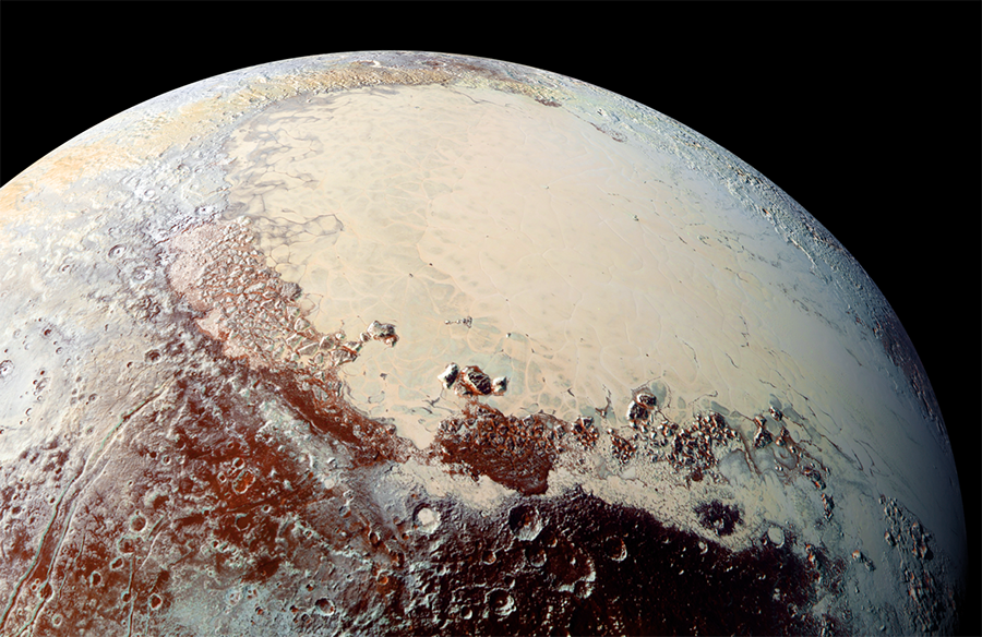 Temperature in Pluto, Haze covering Pluto, Pluto haze