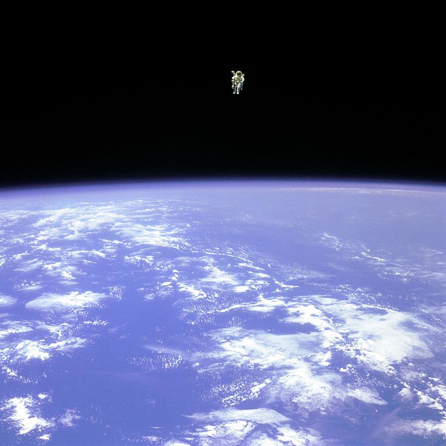 Bruce McCandless: The astronaut who flew in space with 'no strings attached'