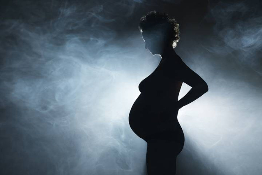 More Pregnant Moms in California Getting High