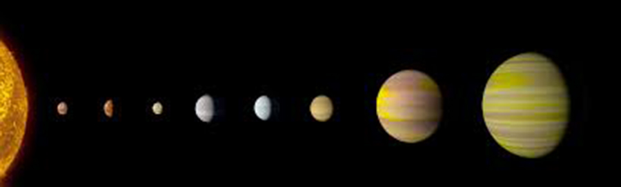 Kepler-90, Star system, NASA and Google