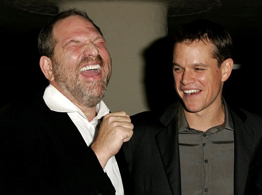 Matt Damon talks about sexual misconduct, Harvey Weinstein, Louis C.K., ABC News' Popcorn With Peter Travers