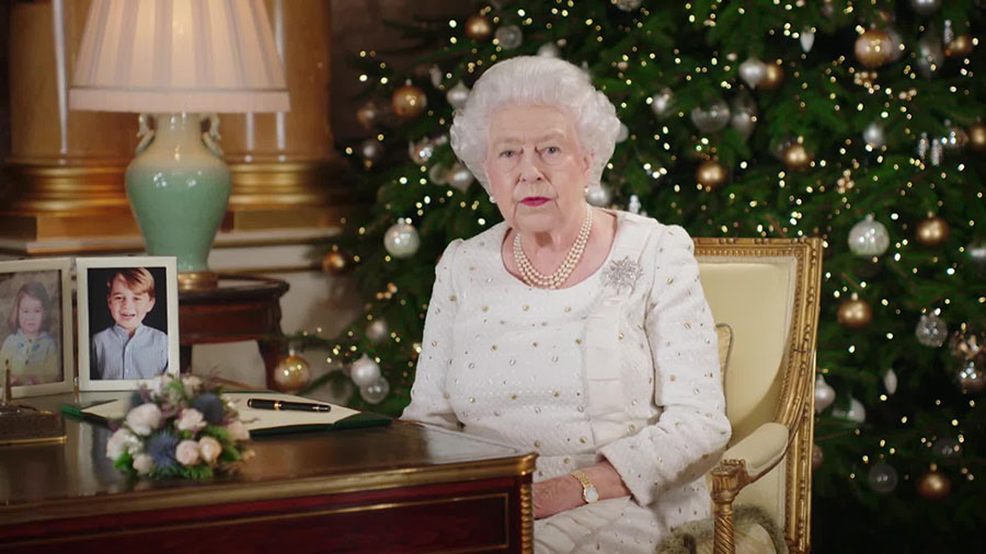 Did the Queen's Christmas message include a sneaky reference to 'The Crown'?