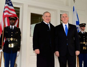Donald Trump, Israel, Jerusalem, Mike Pence, Mike Pence visits Jerusalem, Mike Pence and Netanyahu, US recognizes Jerusalem as Israel's capital