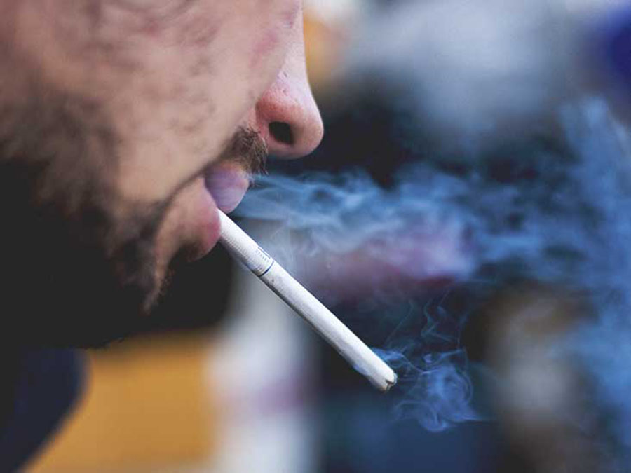 Daily habit, People smoking cigarettes, Tobacco, Peter Hajek
