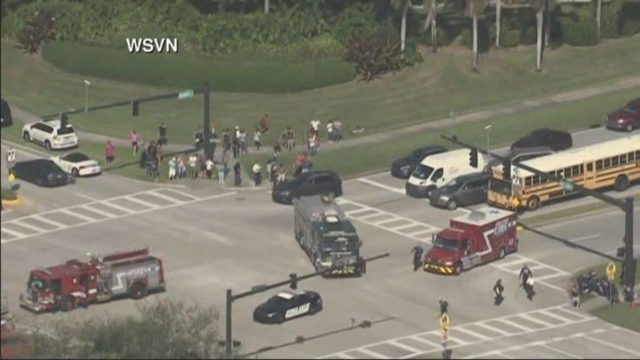 Shooting in high school in Florida, Shooting in Stoneman Douglas High School, Unidentified shooter in Florida high school, School shooting in Parkland