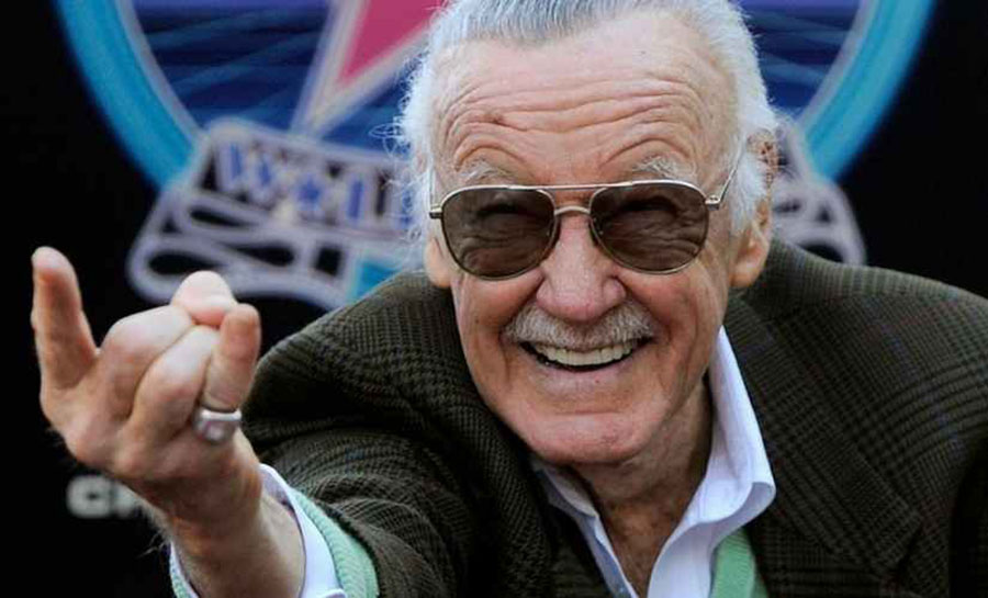 Marvel's creator Stan Lee, Comic Legend and father of heroes, Captain America, Thor,