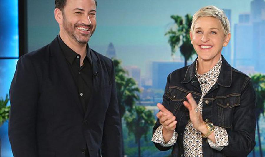 Ellen DeGeneres surprised Jimmy Kimmel, Baby born with heart disease