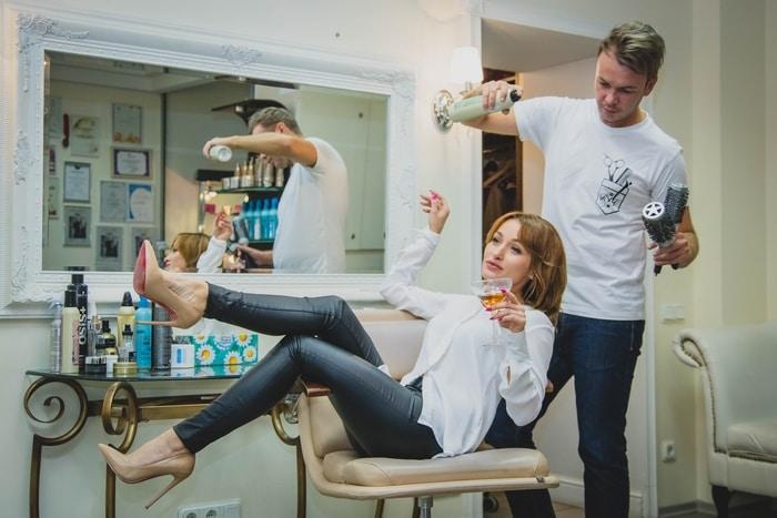 Hairdresser Beauty Salon