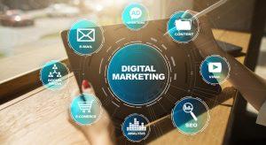 Digital Marketing Technology Concept