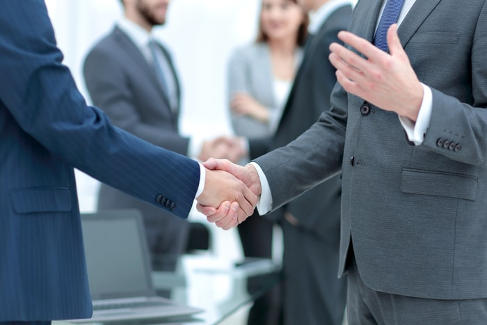 Closing Business Deal Direct Sales