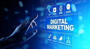 Digital Marketing Online Concept