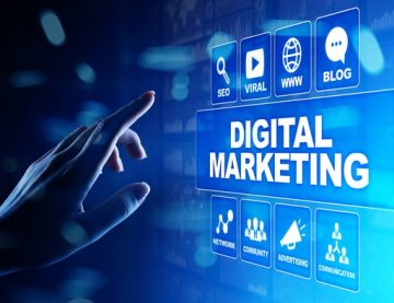 Digital Marketing Online Concept
