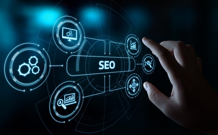 SEO Internet Industry Concept