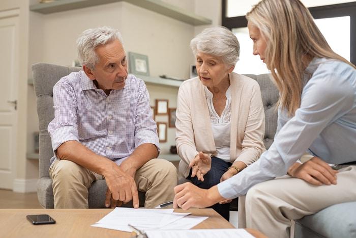 Financial Advisor Planning Retirement